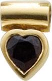 Extravaganter Herzanhänger Gelbgold 333/- mit echtem wunderschönem Granatstein. Durch die polierte Oberfläche erhält dieser Anhänger wahren Glanz. Maße des Anhänger´s 12,0 X 8,0 mm, Lg. 3,0 mm, Gewicht 1,8 gr. Wunderschönes Design von Deutschlands größtem