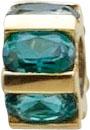 Glanzvolle Auftritte garantiert mit unseren modernen Scala Anhänger in Rondellform, mit 6 wunderschönen facettierten Turmalin, eingearbeitet in feinem Gelbgold 333/- poliert. Lg. 4,0 mm. Gewicht 2gr, 10mm Durchmesser. Passend für alle gängigen Sammelsyste