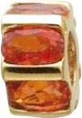 Glanzvolle Auftritte garantiert mit unseren modernen Scala Anhänger in Rondellform, mit 6 wunderschönen facettierten mexikanischen Feuertopas, eingearbeitet in feinem Gelbgold 333/- poliert. Lg. 4,0 mm, 10mm Durchmesser. Gewicht 2gr. Passend für alle gäng