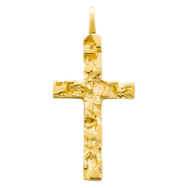 Anhänger – Goldanhänger Gelbgold 585 Kreuz