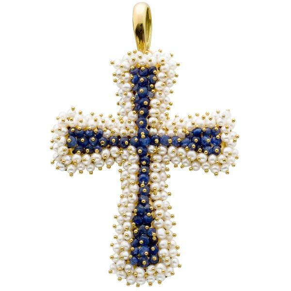 Anhänger – Kreuzanhänger Gelbgol...