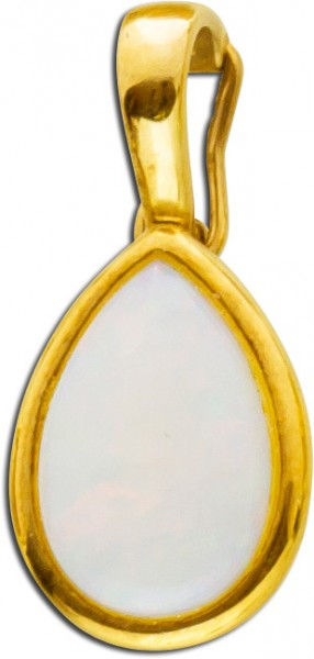 Anhänger Gold 333 Opal Edelstein Caboch...