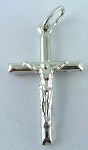 Anhänger Sterling Silber 925 Kreuz Jesus