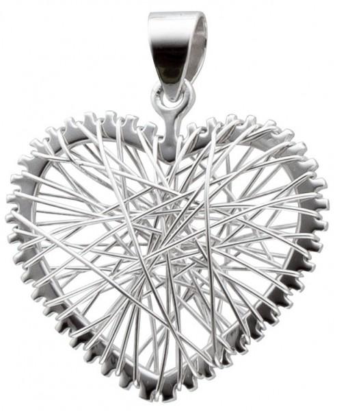 Silberanhänger – Herzanhänger Sterling Silber 925/-