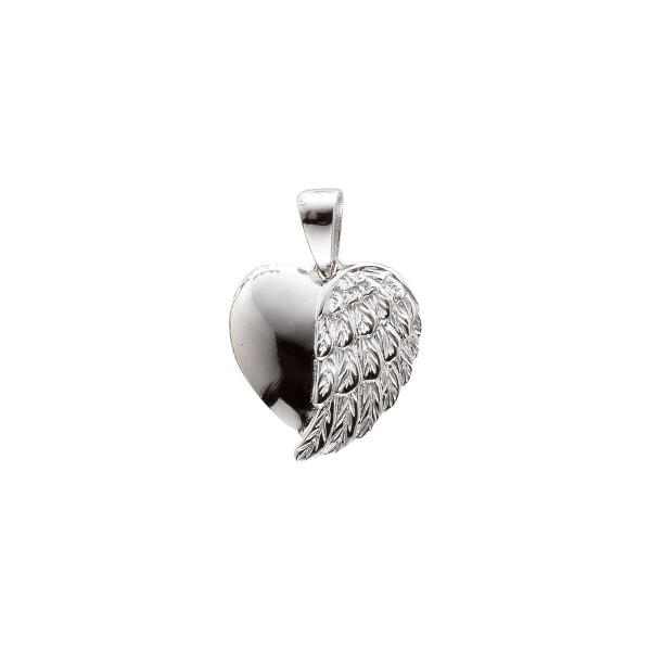 Anhänger Flügelherz – Engelsrufer Sterling Silber 925/- rhodiniert