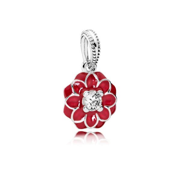 PANDORA Charms 791829CZ Anhänger Orientalische Blüte