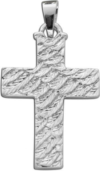 Anhänger Kreuz Sterling Silber 925 Nordisches Muster lapponia style
