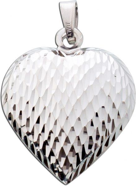 Anhänger Herz Silber 925 Kettenanhänger Silberschmuck
