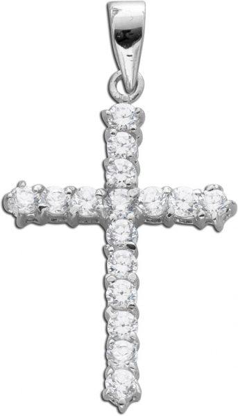 Silberanhänger 925 Kreuz grosser Kreuza...