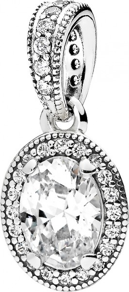 PANDORA SALE – Ketten Anhänger 396246CZ Sterling Silber 925 Vintage Eleganz klare Cubic Zirkonia