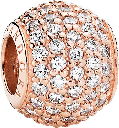 Pandora Charm Rose 781051CZ rosévergold...