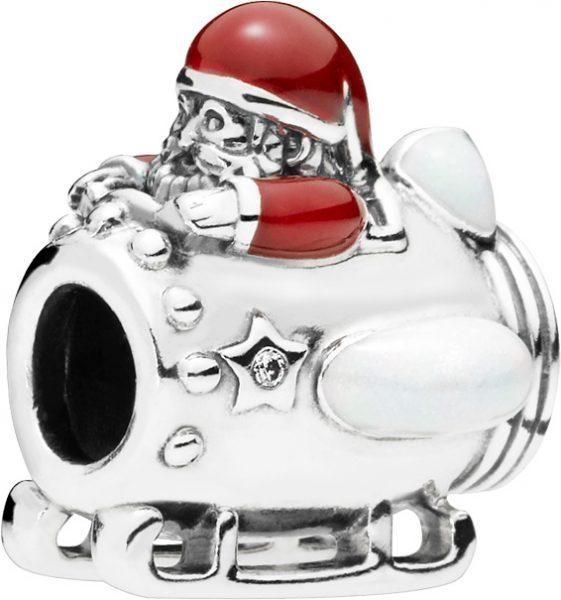 PANDORA SALE Charm 797511ENMX Santa in S...