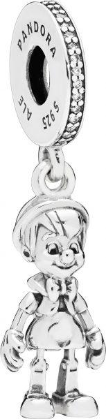 PANDORA Disney Charm 797489CZ Pinocchio ...