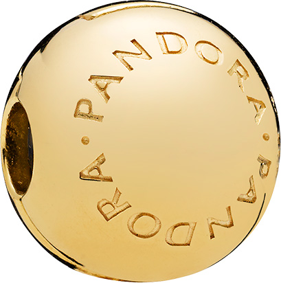 PANDORA SALE Shine Clip Charm 767053 Log...