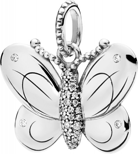 PANDORA Anhänger 397933CZ Decorative Butterfly