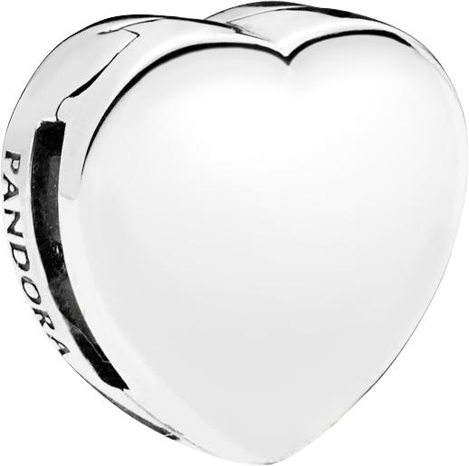 PANDORA REFLEXIONS Clip Charm 797620 Heart Herz Sterling Silber
