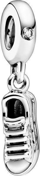 Pandora Passions Charm Anhänger 798802C01 Sneaker Shoe Sterling Silber 925 Klare Zirkonia