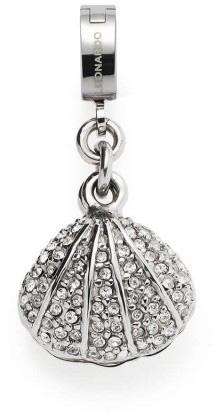 Leonardo Darlins Anhänger Memoria Clip und Mix 017974 Edelstahl Glaskristall Imitations Perle