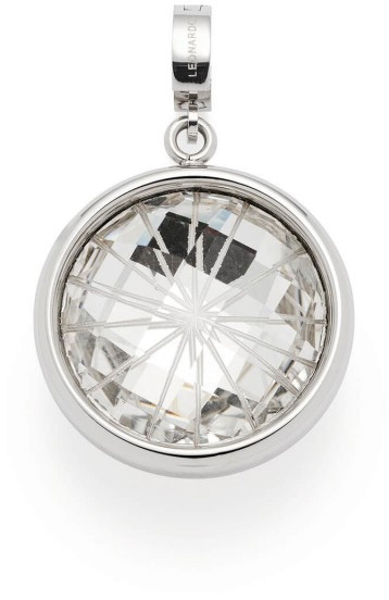 Leonardo Darlins Anhänger Sole Clip Und Mix 017983 Edelstahl Glaskristall