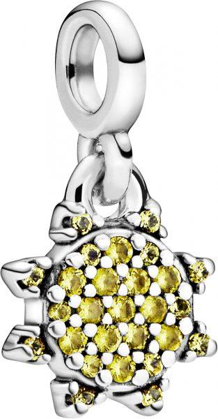 Pandora Me Charm Anhänger 798976C01 My Summer Sun Silber 925 Gelbe Kristalle
