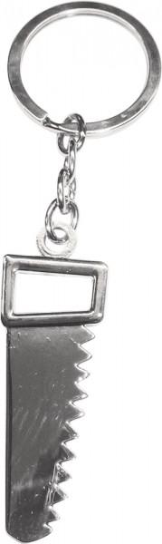 Crystal Blue Schlüsselanhänger Säge Metall, Länge 11cm