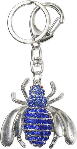Crystal Blue Schlüsselanhänger  Käfer