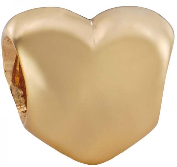 PANDORA Charm Element Herz Modellnummer: 750119 Wunderschöne Herzform aus massivem 585/- ( 14 Karat ) Gelbgold Maße ca. 10,4mm x 9,0mm. In Premiumqualität von Deutschlands größtem und günstigstem Schmuckverkäufer. Der Hammerpreis aus Stuttgart! Die Nr.