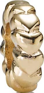PANDORA Zwischenelement Modellnummer: 750203 Absolutes Topdesign aus massivem 585/- ( 14 Karat ) Gelbgold Maße ca. 9,5mm x 3,0mm. In Premiumqualität von Deutschlands größtem und günstigstem Schmuckverkäufer. Der Hammerpreis aus Stuttgart! Die Nr. 1 für Go