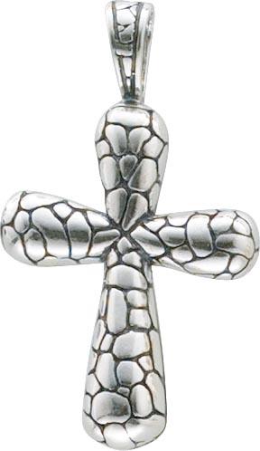 Kreuzanhänger aus echtem Silber Sterlingsilber 925/-, poliert und rhodiniert im edlen Weißgoldlook. Maße: Länge 42 mm, Breite 24 mm, geeignet für Ketten bis zu einer Stärke von 6 mm. Ein Schmuckstück für alle, die das Besondere lieben mit Niedrigpreisgara