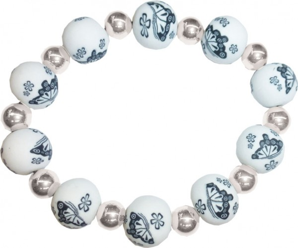 Fimo Beads Kette Kugelkette