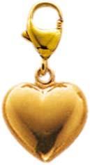 Bezaubender Anhänger (Herz) aus Gelbgold 333/-. Maße ca. 6x10mm. Premiumqualität von Deutschlands größtem Schmuckhändler Abramowicz aus Stuttgart.