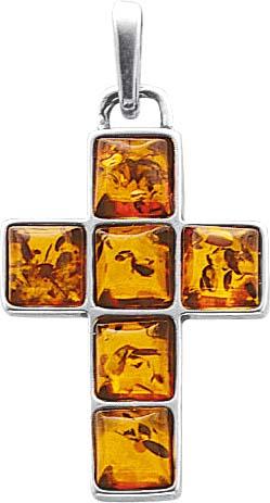 BernsteinKreuz Stuttgart  zum Hammerpreis. Anhänger beweglich Bernsteinkreuz  mit 6 echtem, wunderschönen Bernsteinen aus echtem 925/- Silber Sterlingsilber, Maße ca. 38×21 mm, Dicke ca. 4,4 mm, rhodiniert (Weißgold-Look) und hochglanzpoliert. Anhänger