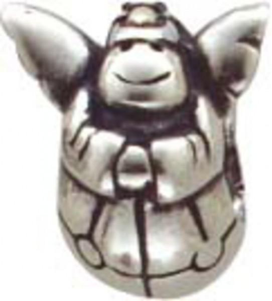 Beads-Anhänger Engel in Silber Sterlingsilber 925/-. Höhe 11mm, Breite 10mm, geeignet für Ketten bis 4mm Stärke. Tiefstpreisgarantie bei Abramowicz in Stuttgart. Ihre Nr. 1 für Gold, Silber und Edelsteine in Premiumqualität.